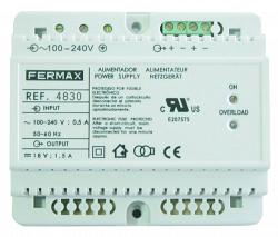 Блок питания DIN6 100-240VAC/12VDC-2A - 4813