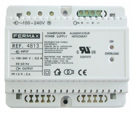 Блок питания DIN6 100-240VAC/12VDC-2A