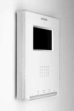 Цветной монитор iLOFT 3.5″ белый, накладной монтаж